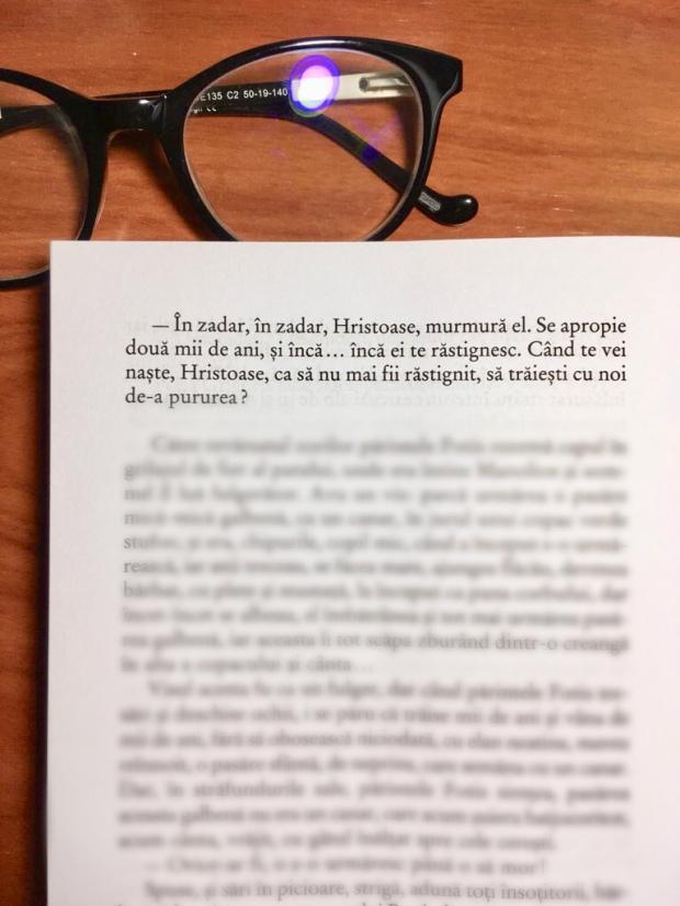 Fragment Kazantzakis Hristos Rastignit din nou